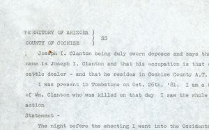Clanton Testimony