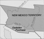 New Mexico Territory after Gadsden Purchase