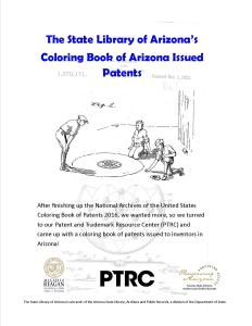 AZ Patent Coloring Book Cover