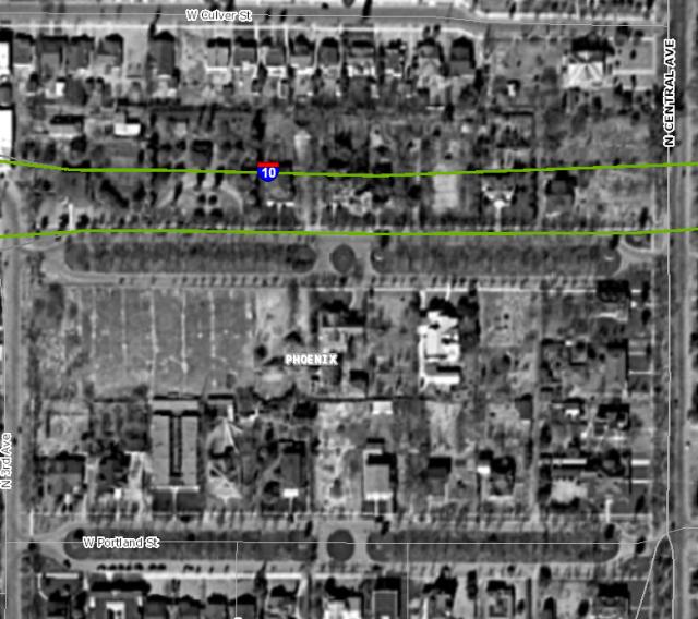 Portland St, Phoenix 1930