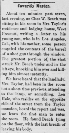 Beach murder herald 9-26-1899