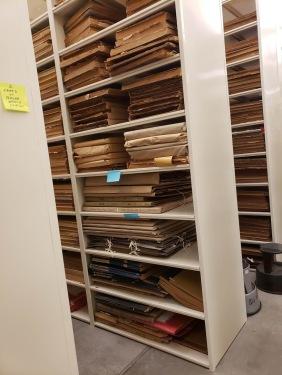 Prescott newspaper stacks
