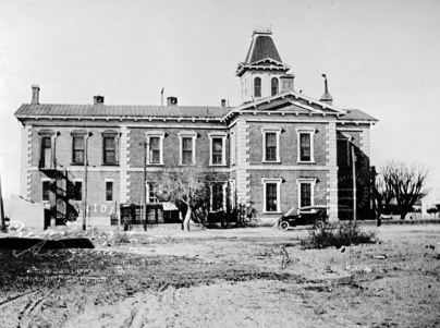 Cochise County Courthouse in Tombstone, 1915.